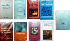 lotto occasione 9 libri - PASOLINI - Camus - D'ANNUNZIO_BAUDELAIRE_ e altro