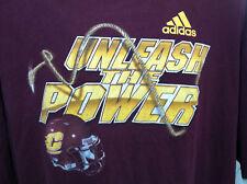 de10b58c5 CENTRAL MICHIGAN Football T-Shirt 3XL XXXL Adidas