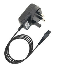 Power Charger Cable Lead for BRAUN Series 3 380 390CC Wet & Dry Electric Shaver