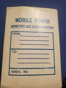 Mobile Power Mini Dc-AC Converter