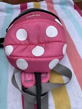 LittleLife Toddler Child Disney Minnie Mouse Daysack Backpack With Safety Reins