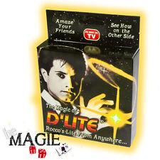 2 x D'lite JAUNE (1 Paire) - Faux pouce Lumineux - Ghost light - Tour de Magie