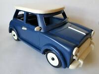 "MINI COOPER Hand Made Wooden 12"" Classic Car Model Ornament EXCELLENT CONDITION"