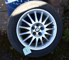Alfa Romeo GT 147 156 Alloy Wheels and Good Michelin Tyres