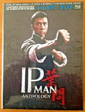IP MAN Anthology - 4 Disc Box - Blu-ray