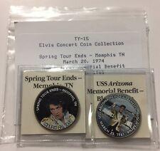 Elvis Presley Colorized Jfk Kennedy Half Dollar Us Coin 2 Pack