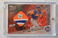 2017 Topps Now Amed Rosario Players Weekend Game-Used Jersey Patch Relic 7/10