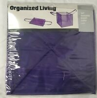 """Organized Living 14"""" Foldable Mesh Cube Water Resistant, Variety NEW"""