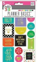 Me & My Big Ideas Create 365 Planner Stickers 343 pcs Hustle Get it done MAMBI