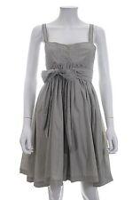 Twenty 8 twelve by s. miller capulet coton-mélange soie robe/gris/rrp: £ 300.00