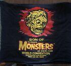 SHLOCK MONSTER ( Famous Monsters ) 1995 Tee Shirt Tube Strikeoff Test Print FMOF