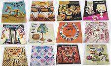 Craft books Knitting and craft work Ex Display -16