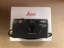 Leica Mini Compact 35mm Vintage Film Camera With Elmar 1:3.5/35 Lens Mint Boxed