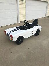 1960 CorvetteCunningham Le Mans RacerAdult/Child Pedal Car - One of a Kind