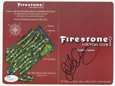 RORY McILROY Signed Autographed Firestone CC Scorecard, 2014 WGC-Bridgestone JSA