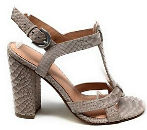 Sigerson Morrison Womens CALEE Lace Dress Sandal Dune Taupe Size 6 M US
