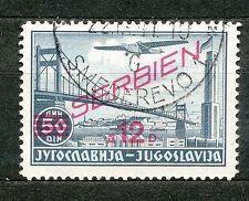 Duitse bezetting van Servië  30 gebruikt (niet gekeurd)