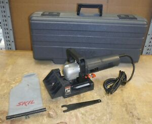 Skil Professional 1605 Plate Joiner / Biscuit Cutter in Case Nice Used Cond. rk5