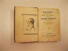GUADAGNOLI Antonio, Raccolta completa delle poesie giocose
