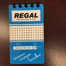 25 REGAL WIRE MARKER BOOKS 46-90 10 PAGES
