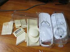 Vintage 1978 Mr Chef Mandoline Food Processing Center Slicer Shredder AND