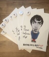 More details for buying into britpop  book by rob fiddaman . can be signed and dedicated .