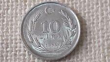 Turkey 10 lira 1984