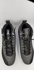 Nike Air Jordan Retro XII 12 Metal Baseball Cleats Black854567-010 sz 13