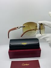 Cartier Smooth Stainless Steel Rimless Frame Glasses/ Sunglasses Frames Vintage