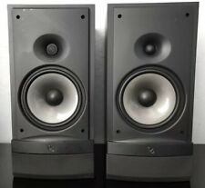 INFINITY RS3 BOOKSHELF SPEAKERS 125 Watts - PAIR Without Grills HiFi Audiophile