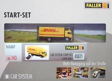 "Faller 161607 H0 - CAR- SYSTEM "" Starter- Set mit LKW MAN DHL "" NEU & OvP"