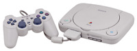 Sony Playstation 1 PS1 PSONE Console Bundle  & TV AV Lead TESTED WORKING