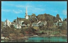 The Old Mill Cove East Boothbay, Maine 1960's Chrome PC by Plastichrome® UNUSED