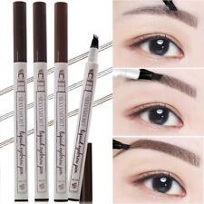 Microblading Tattoo Eyebrow Liquid Ink Pen Waterproof 4 Fork Pencil Brow Definer