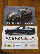 2016 Ford Shelby GT-H Shelby American Hertz car hero information cards original