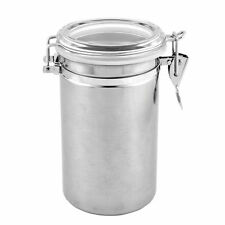 Unbranded Stainless Steel Kitchen Coffee Canisters