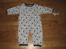 NEW Baby Infant Dallas Stars Romper Sleeper Size 18M 18 Mo. Boys Girls Creeper