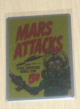 2015 Topps Mars Attacks Occupation Kickstarter Metal case topper card #MM-C
