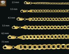 Joyería de color principal oro de 10 quilates para hombre