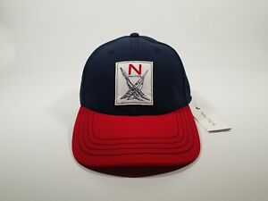 New Authentic Nautica Men's N Sailing Patch Twill Hat Cap CLEARANCE