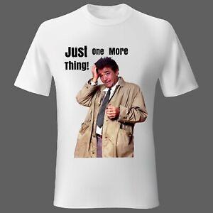 Mens t-shirt MEDIUM Movie Columbo Tv series America Woman Unisex Quote UK