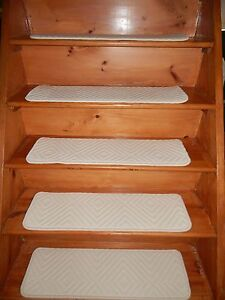 """13 STEP 9"""" X 30"""" LANDING 30'' x 20'' Stair Treads Staircase  WOVEN WOOL CARPET."""