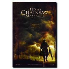 The Texas Chainsaw Massacre 24x36inch Horror Movie Silk Poster Wall Decoration