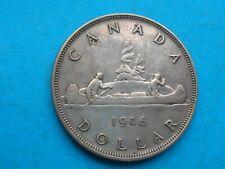 Canada 1946 George VI silver 1 dollar