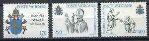 S9860) Vatican MNH 1979, Pope John Paul II 3v