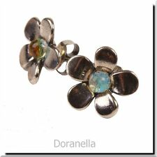 Authentic Trollbeads Sterling Silver 56106 Silver Flower :1
