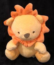 Fisher Price Stuffed Lion Yellow Orange Ribbon Tail Plush Animal Toy