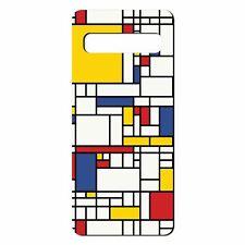 Para Samsung Galaxy S10 Funda de Silicona Bauhaus Diseño - S32
