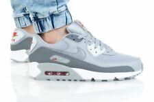 Nike Air Max 90 Shoes Smoke Gray White Silver Dm9102-001 Men's Multi Size New