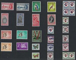 H 204 British Guiana & Guyana / A Small Collection Early & Modern Umm & Lhm